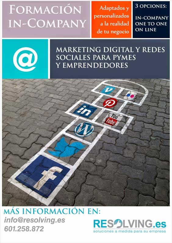 curso redes sociales empresas