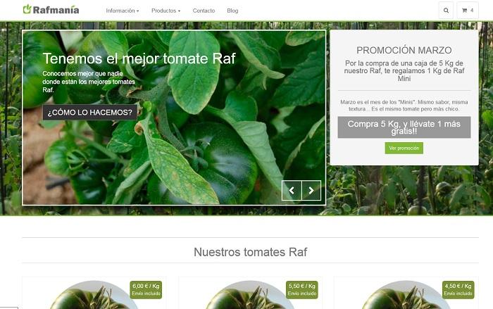 web tomate raf