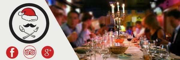 promocion para los mejores restaurantes de almeria para navidad para llenar el restaurante con las redes sociales