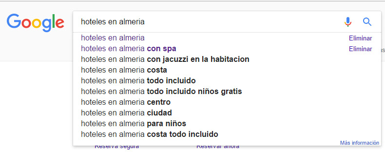 google como herramienta de marketing para hoteles, hostales y casas rurales