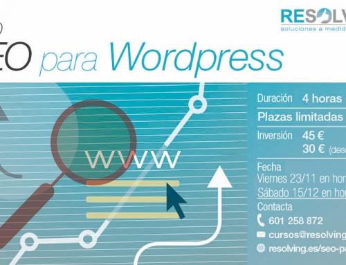 Curso SEO para WordPress en Almería para autónomos y profesionales